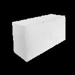 Камень белый силикатный полуторный лицевой, полнотелый M150, 250х88х250
