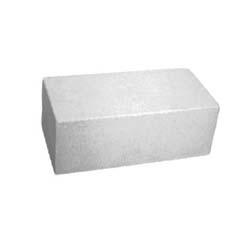 Кирпич силикатный одинарный полнотелый белый 250х120х65 мм
