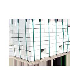 Камень белый силикатный полуторный лицевой пустотелый, 250х120х138, M150