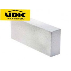 Газобетон/газоблок UDK 600x200x100, D400