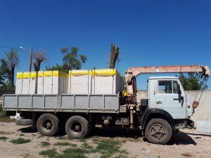 Как доставляют газобетон Hetten